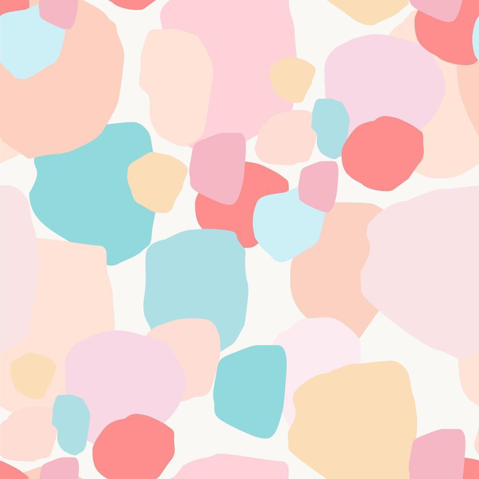 abstract artistiek naadloos patroon met zachte lichte vlekken. vector