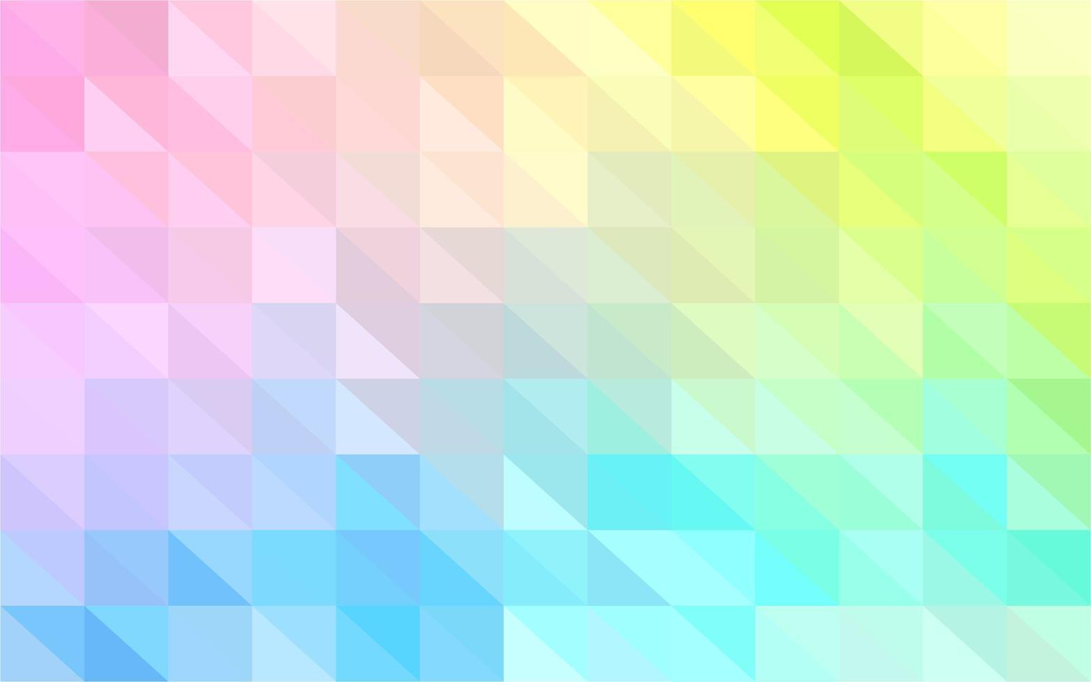 veelkleurige mozaïek achtergrond vector
