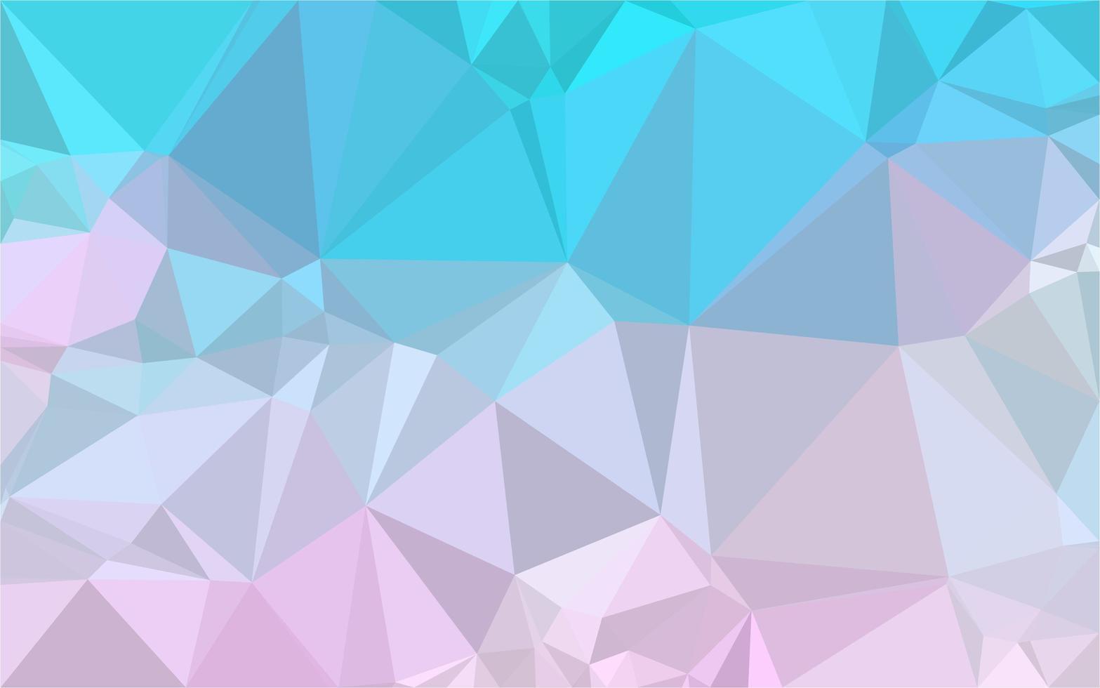 blauw roze verloop laag poly vector