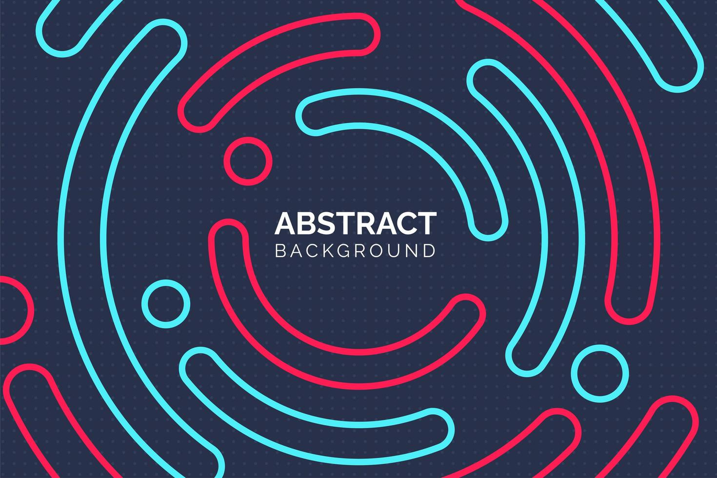 moderne abstracte kleurrijke cirkel achtergrond vector