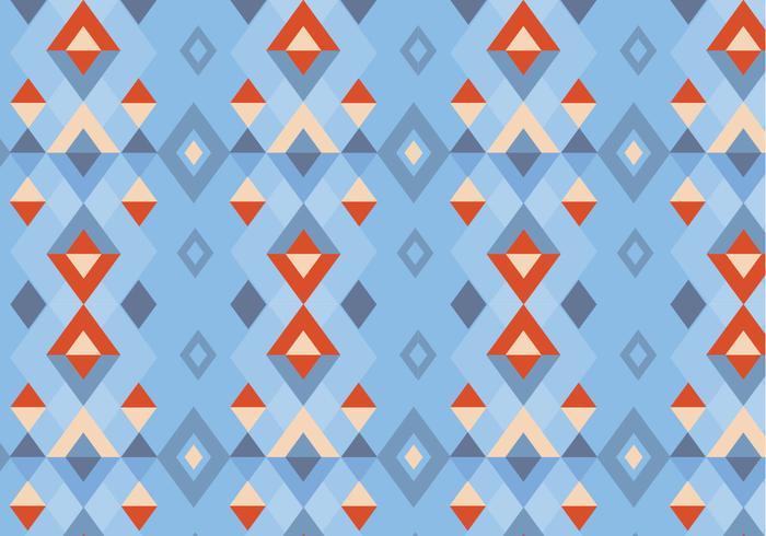 Traditioneel Naturel Patroon vector