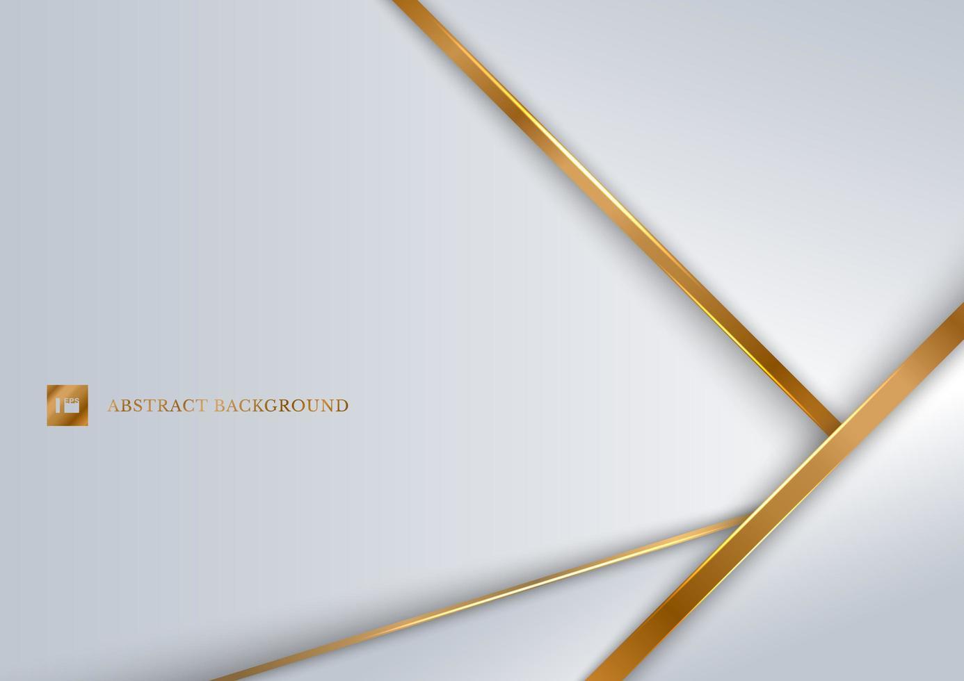 abstracte witte achtergrond geometrische overlappende lagen vector