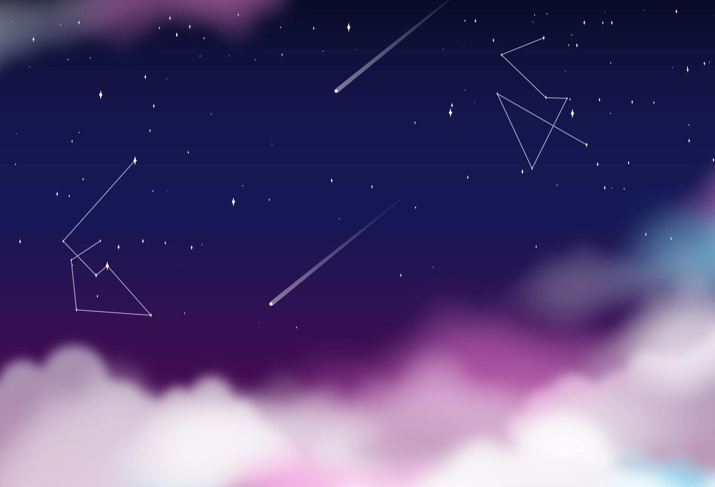 abstracte ruimteachtergrond vector