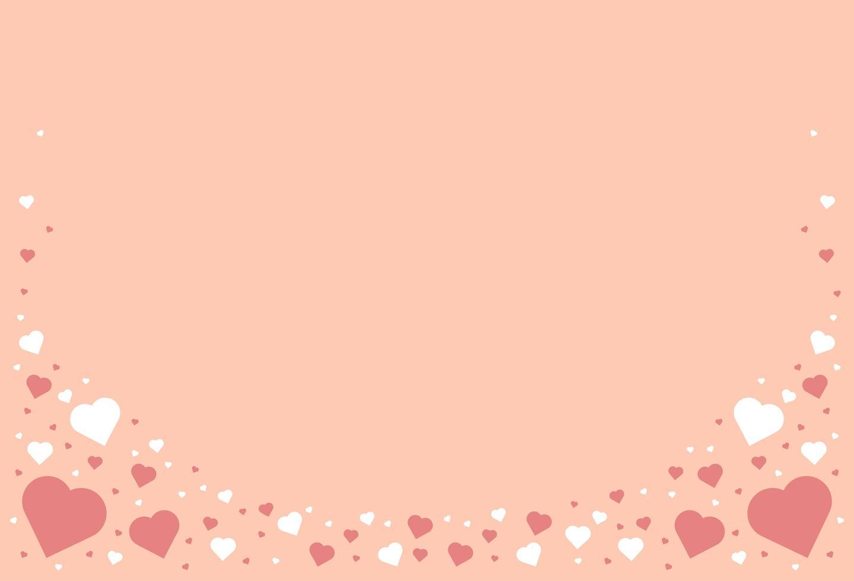 hart pastel achtergrond vector