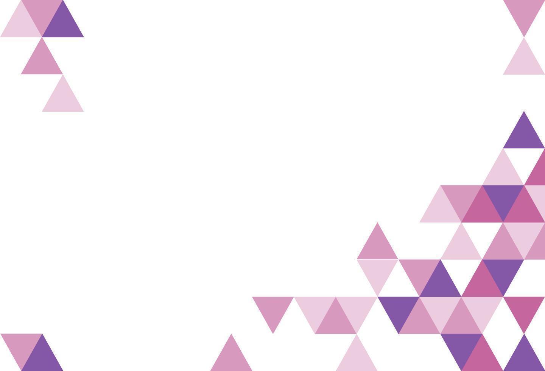 geometrisch driehoekspatroon vector
