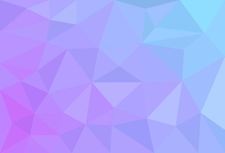 achtergrondbehang met veelhoeken in verloopkleur vector