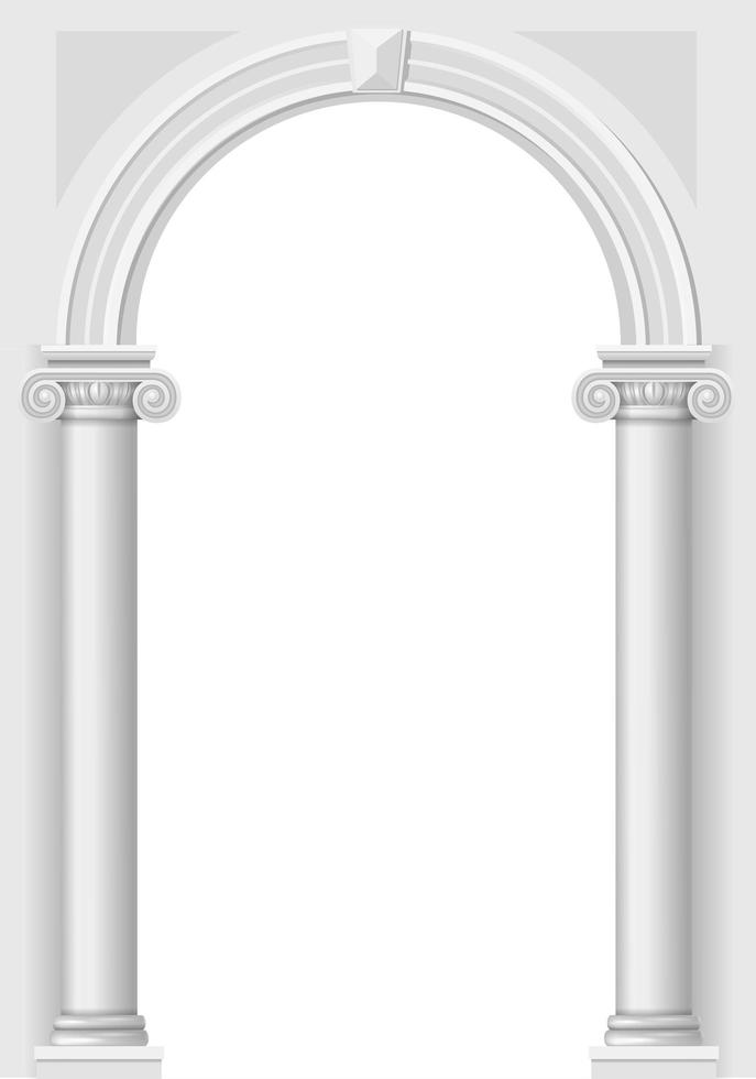 klassieke antieke boog vector