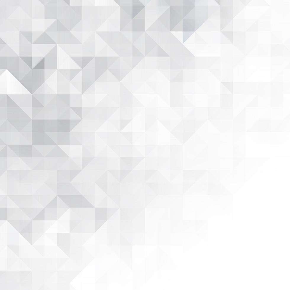 abstracte achtergrond met laag poly zwart-wit vector