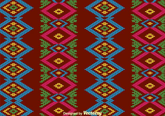 Traditionele Songket Achtergrond vector