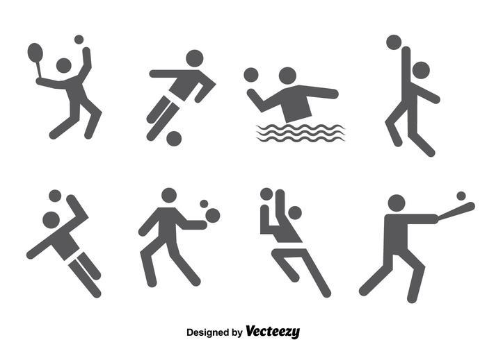 Sport iconen Vector