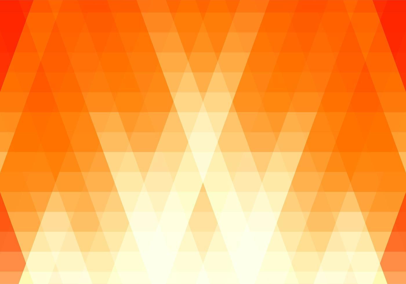 abstract oranje, witte driehoek vormen achtergrond vector