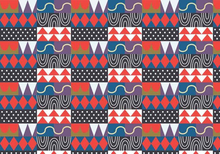 Abstract Willekeurig Patroon vector