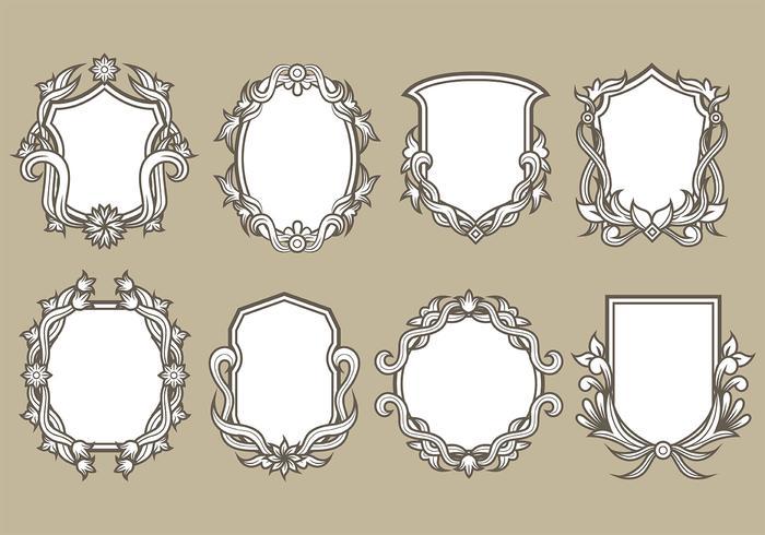 Blason Vector Pictogrammen