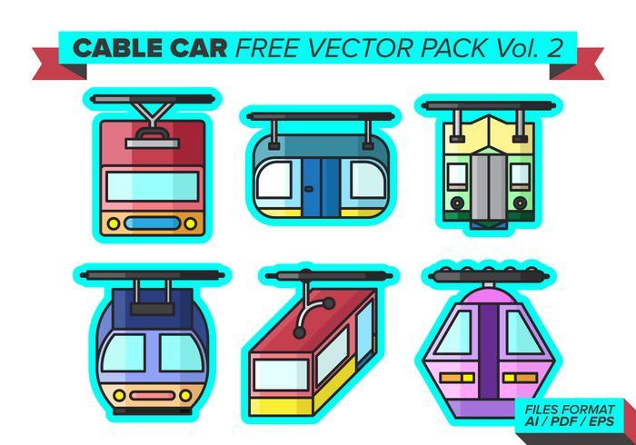 Kabelbaan Gratis Vector Pack Vol. 2