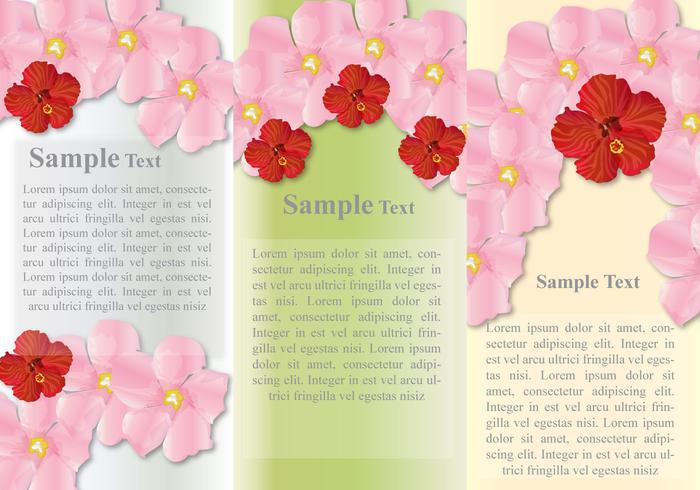 Hawaii Bloemen vector