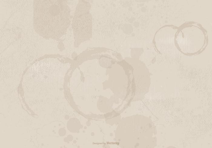 Koffie Gevlekte Grunge Achtergrond vector
