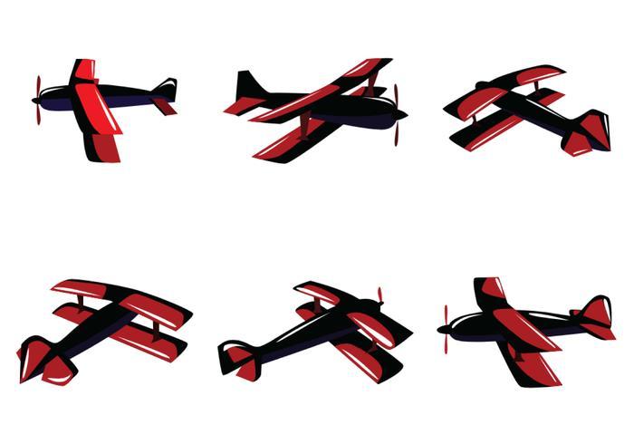 Rode Tweedekker Vector