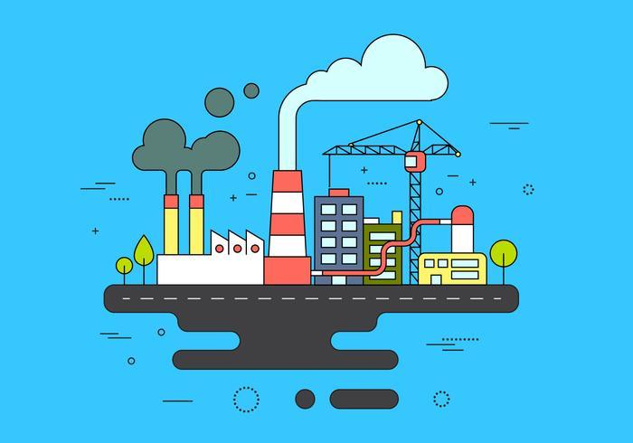 Gratis Industrie Pictogrammen vector