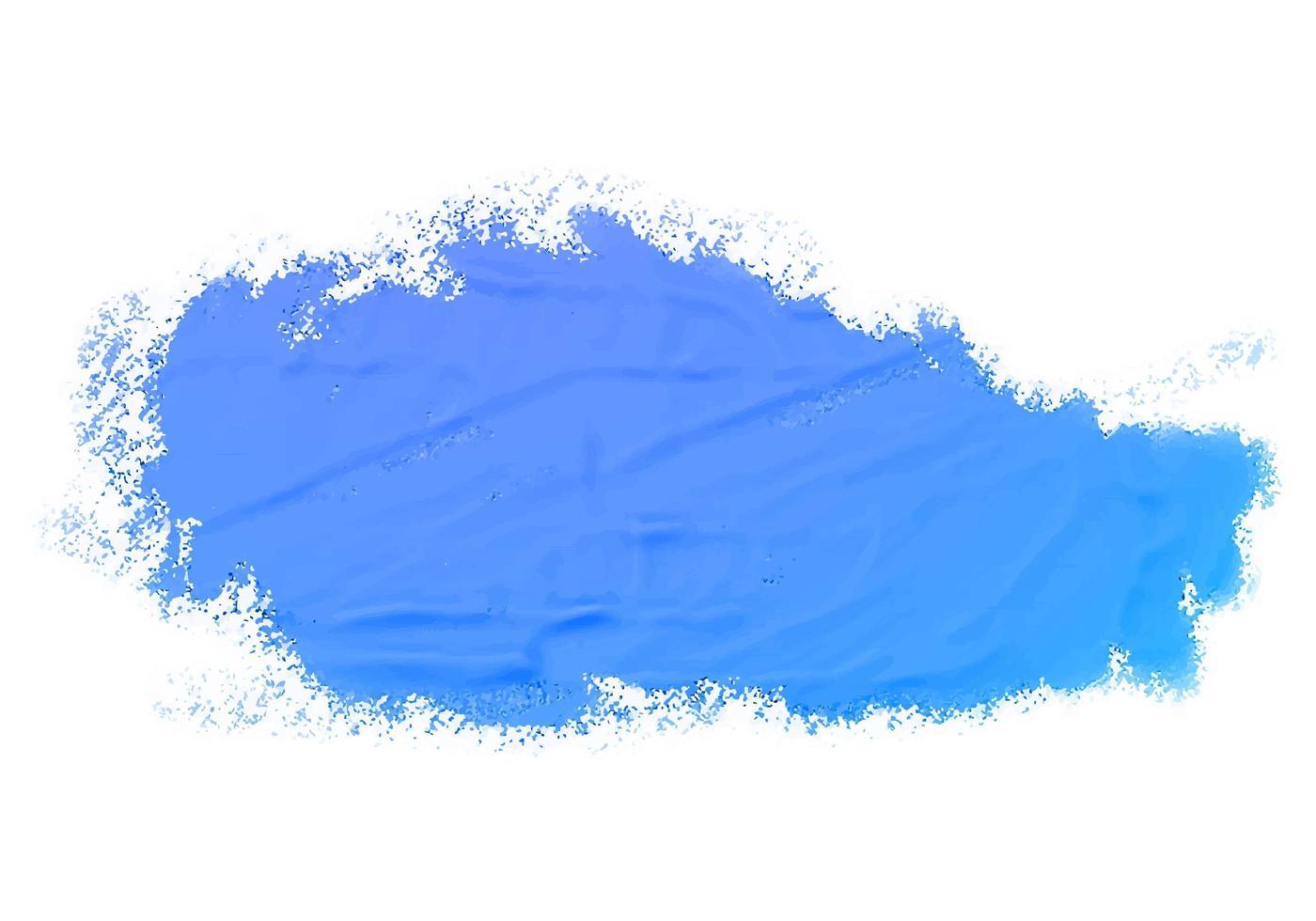 abstracte aquarel blauwe verf textuur achtergrond vector