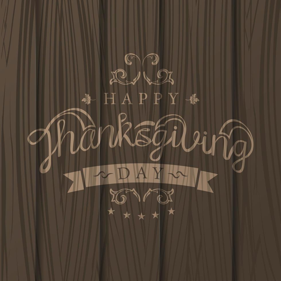 thanksgiving day sjabloon vector