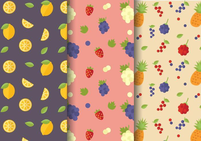 Gratis Citrus Fruit Patroon Vector