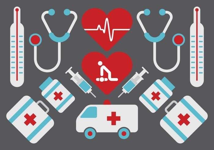 Medische Pictogram Set vector