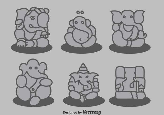 Ganesha Collectie Vector