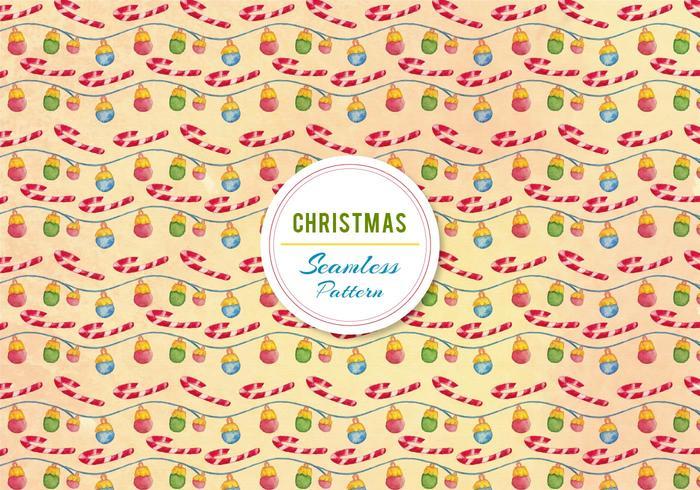 Kerst Ornament En Candy Cane Vector