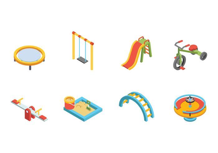 Gratis Kids Playground Vector