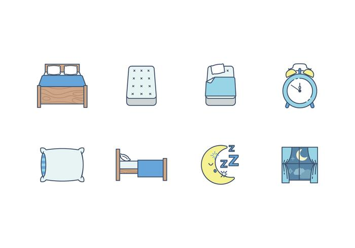 Gratis Sleep Time Vector Icon