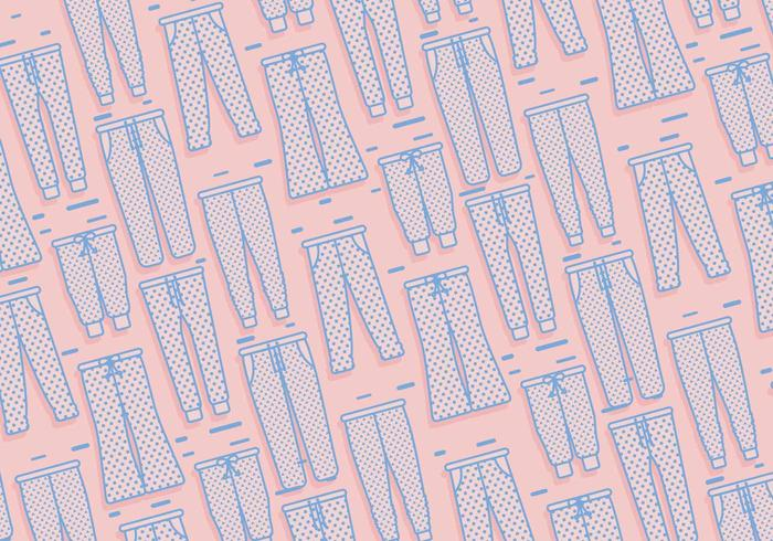Sweatpants patroon vector