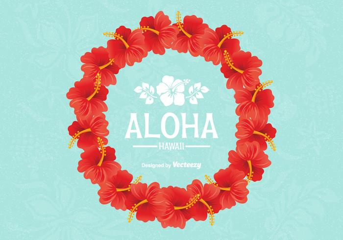 Gratis Vector Hawaiian Lei Design