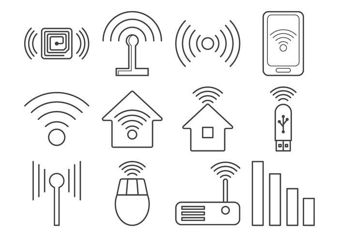 Gratis Signal Icon Vector