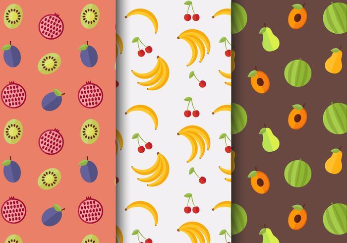 Gratis Fruit Patroon Vector