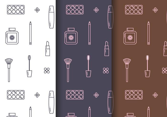 Gratis Cosmetica Patroon Vector