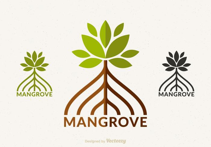 Gratis Mangrove Vector Logo Design