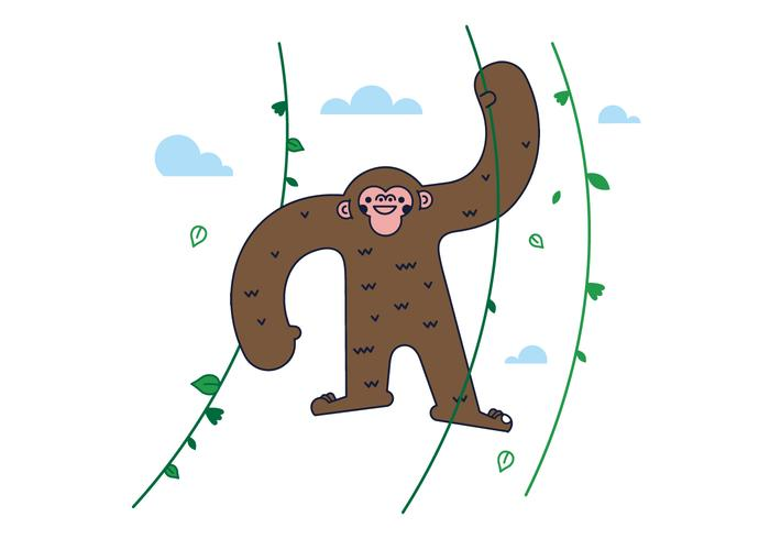 Gratis Monkey Vector