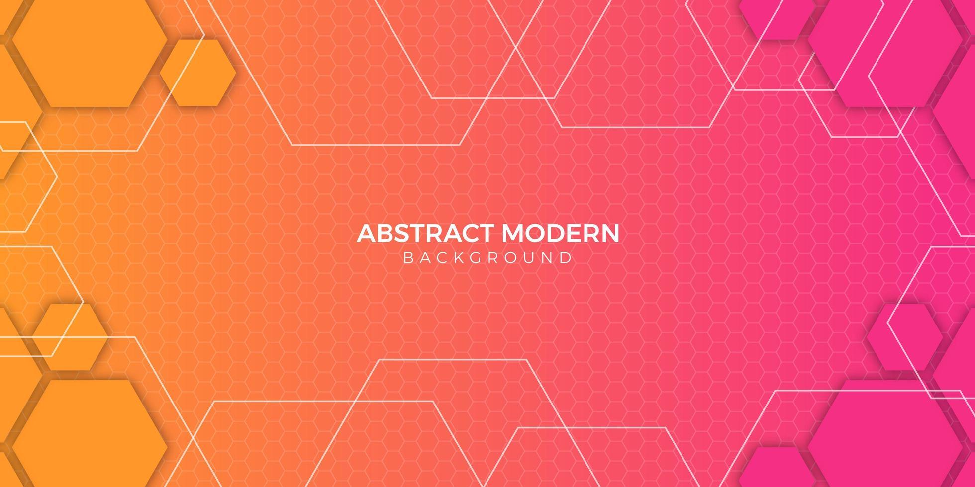 kleurrijk abstract geometrisch gradiëntontwerp als achtergrond vector
