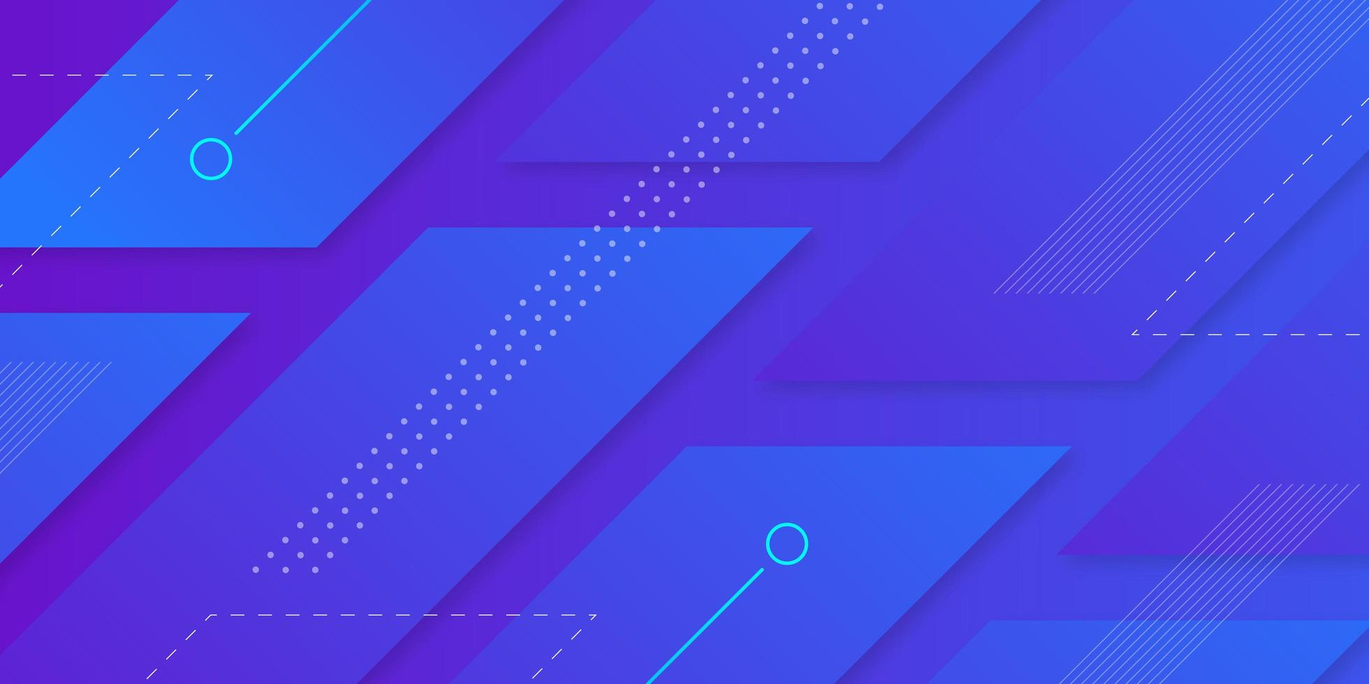 futuristische geometrische achtergrond vector