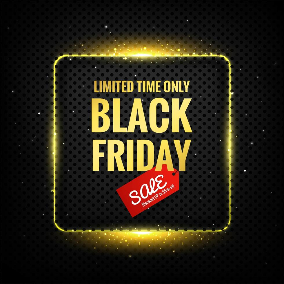 zwarte vrijdag luxe ontwerp vector