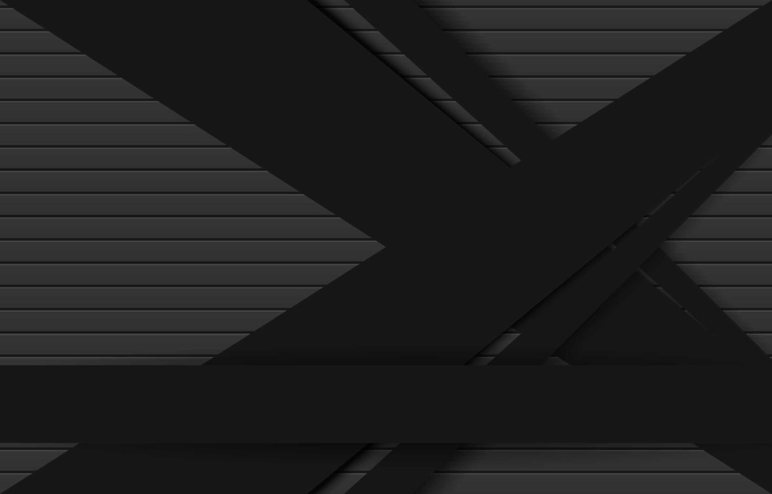 opgetuigde donkere achtergrond met zwart uitgesneden ontwerp vector