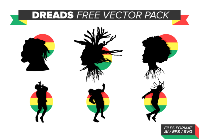 Dreads Gratis Vector Pack