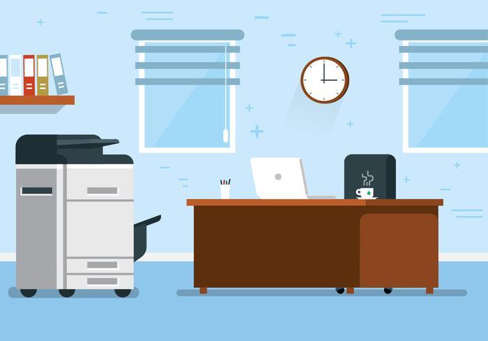 Gratis Vector Office