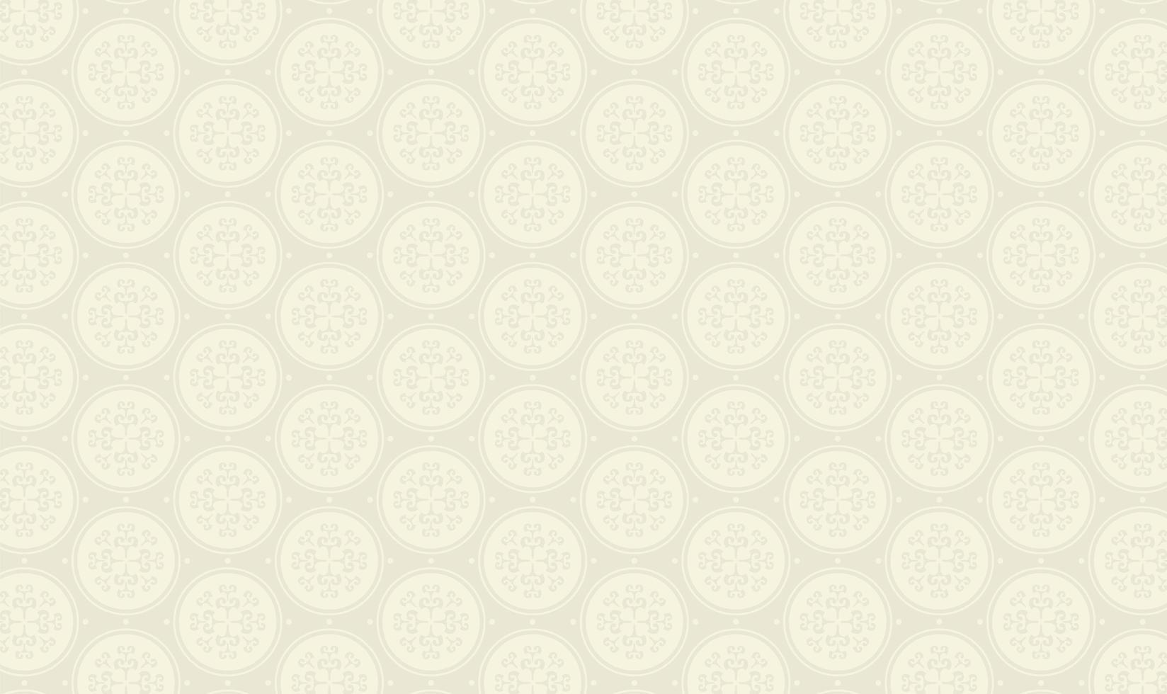 elegant cirkelpatroon op grijs vector