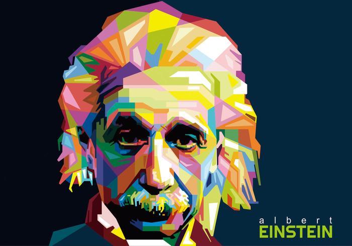 Albert einstein wpap vector