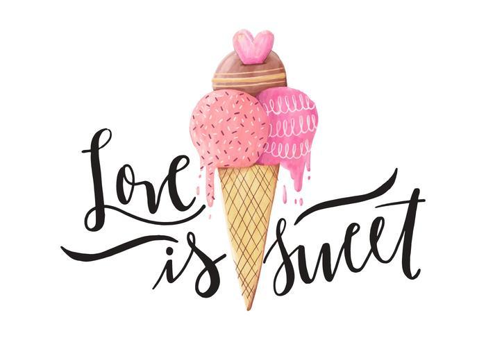 Valentine's Day Quote Illustratie vector