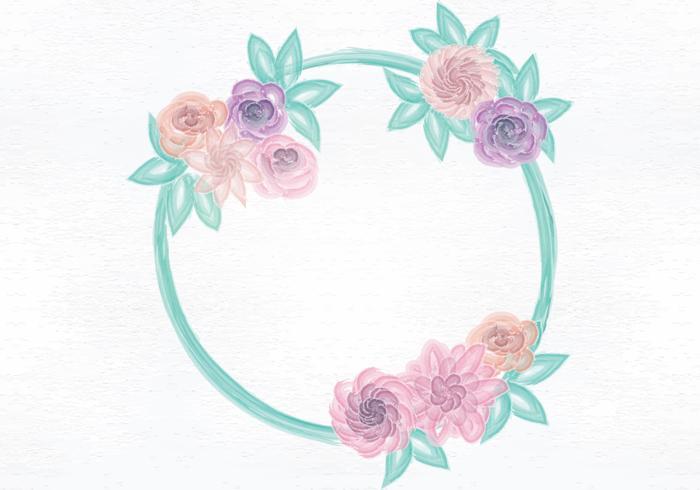 Vector Aquarel Wreath