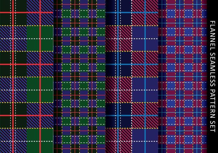 Tartan Pattern Flanel vector