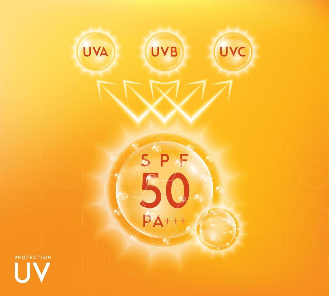 uv-bescherming infographic banner vector