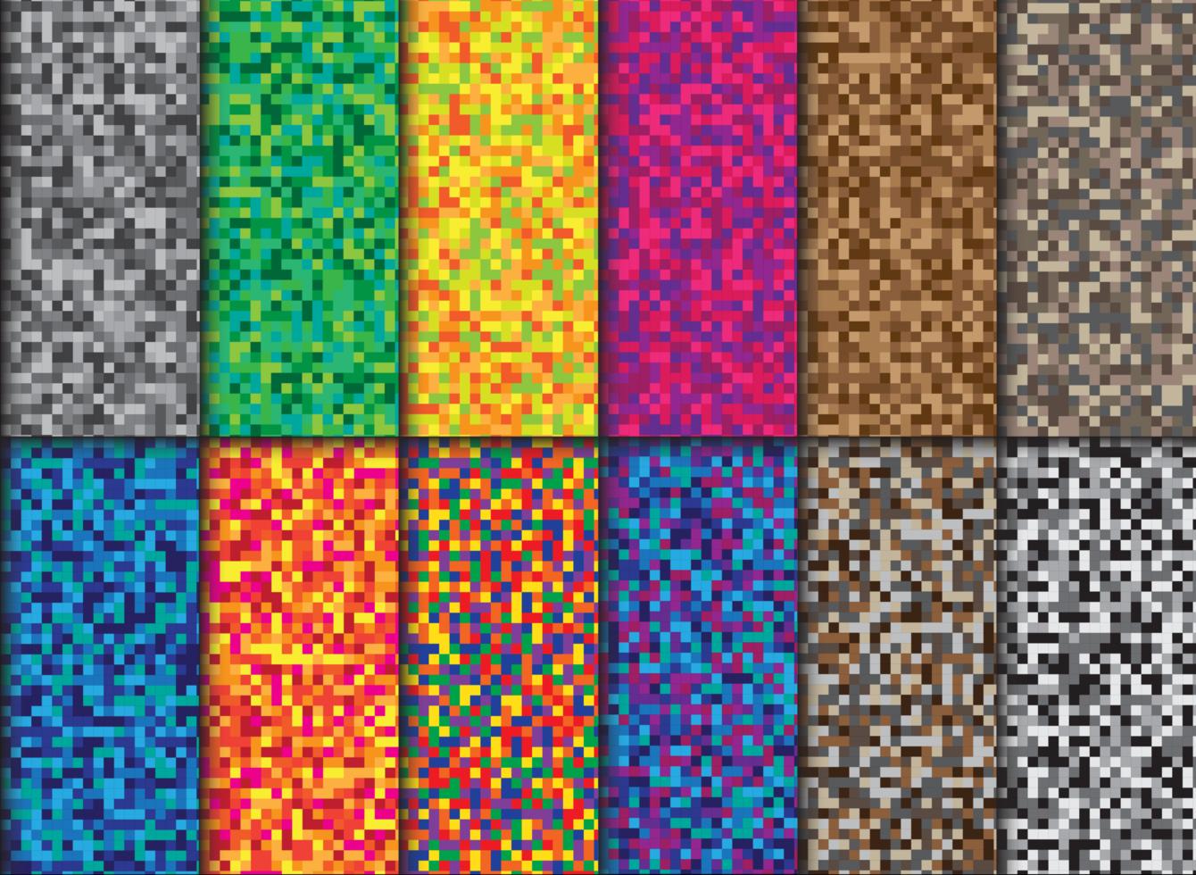 pixel achtergrondcollectie vector